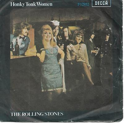 "ROLLING STONES, THE - HONKY TONK WOMEN/ YOU CAN'T ALWAYS GET WHAT YOU WANT Swedish ps (7"")"