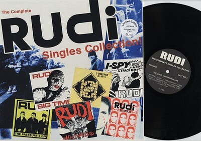 RUDI - THE COMPLETE SINGLES COLLECTION Rare German 2002 compilation (LP)
