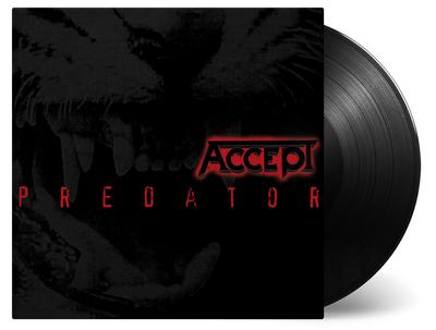 ACCEPT - PREDATOR Re-issue in black 180 gram vinyl (LP)