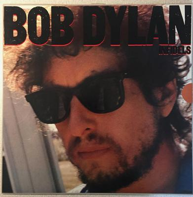 DYLAN, BOB - INFIDELS Dutch original with innersleeves, lyrics sheet (LP)