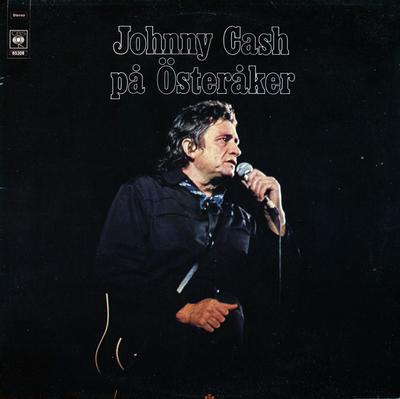 CASH, JOHNNY - PÅ ÖSTERÅKER Swedish original (LP)