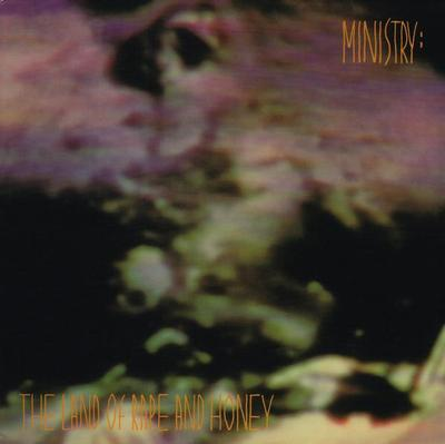 MINISTRY - LAND OF RAPE AND HONEY 180g Gold/orange vinyl. Numbered ed. (LP)