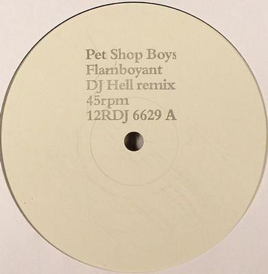 "PET SHOP BOYS - FLAMBOYANT UK promo maxi (12"")"
