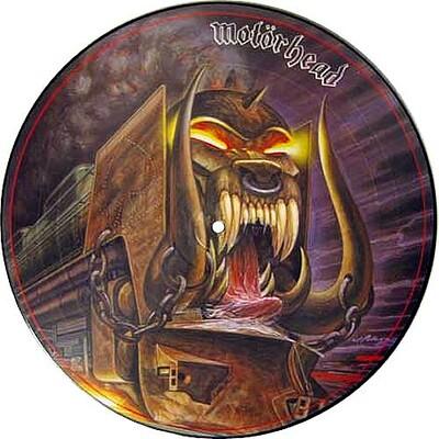 MOTÖRHEAD - ORGASMATRON UK 1986 picture disc edition (LP)