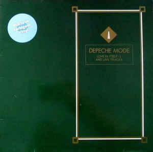 "DEPECHE MODE - LOVE IN ITSELF + Live Rare German yellow vinyl edition! (12"")"