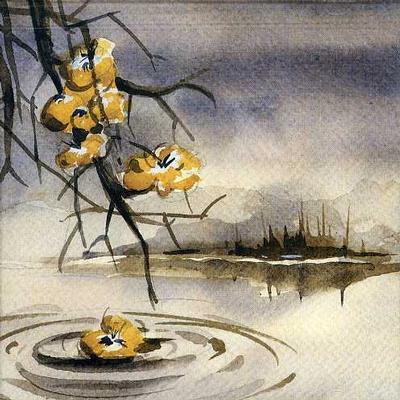 "SEVEN AUTUMN FLOWERS  2x10"" Vinyl."