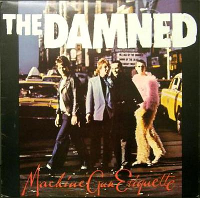 DAMNED, THE - MACHINE GUN ETIQUETTE re. (LP)