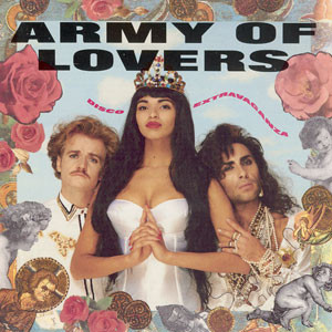 ARMY OF LOVERS - DISCO EXTRAVAGANZA Swedish original with inner sleeve (LP)