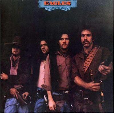 EAGLES - DESPERADO U.S. 1980 re-issue (LP)