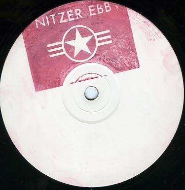"NITZER EBB - CONTROL I'M HERE UK w/l promo with stamped labels (12"")"