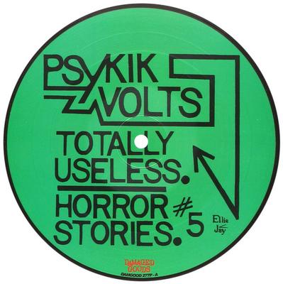 "PSYKIK VOLTS - TOTALLY USELESS / Horror Stories #5 (7"")"