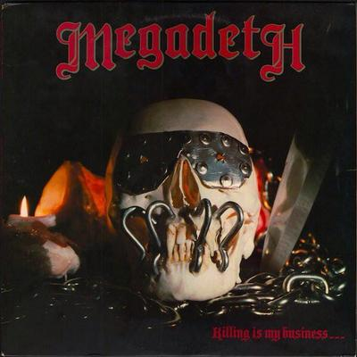 MEGADETH - KILLING IS MY BUSINESS reissue (LP)