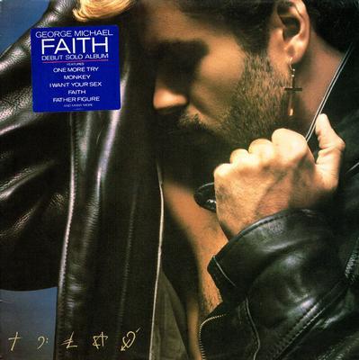 MICHAEL, GEORGE - FAITH Dutch pressing (LP)