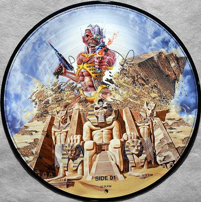 SOMEWHERE BACK IN TIME  2x Picture disc.