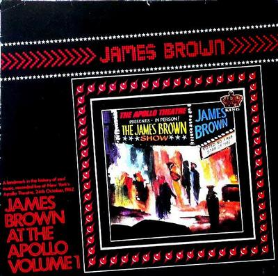 BROWN, JAMES - JAMES BROWN AT THE APOLLO VOL. 1 UK 1983 re-issue (LP)