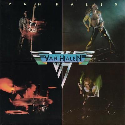 VAN HALEN - S/T German 80:s re-issue (LP)