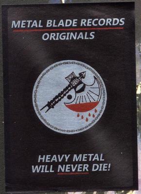 LIVE UNDEAD  Metal Blade Original edition