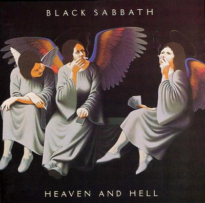 BLACK SABBATH - HEAVEN & HELL coloured vinyl reissue (LP)