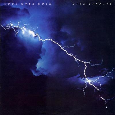 DIRE STRAITS - LOVE OVER GOLD Scandinavian pressing (LP)