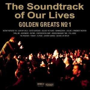 SOUNDTRACK OF OUR LIVES, THE - GOLDEN GREATS NO. 1 Black vinyl (2LP)