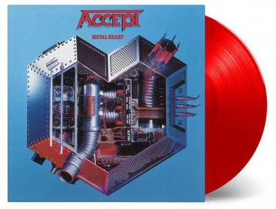 ACCEPT - METAL HEART 180g RED VINYL, Numbered (LP)