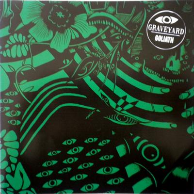"GRAVEYARD - GOLIATH / Leaving you Green sleeve, unplayed copy (7"")"