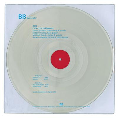 LIVE IN HANNOVER  Clear vinyl in PVC sleeve