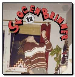 SKOGEN BRINNER - 1ST Red vinyl Lim. Ed. 200 copies (LP)
