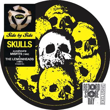 "MISFITS / LEMONHEADS - SKULLS ""side by side"" split single RSD 2013 (7"")"