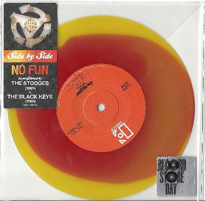"STOOGES, THE / THE BLACK KEYS - NO FUN RSD 2013 (7"")"