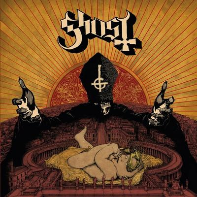 GHOST - INFESTISSUMAM Scandinavian only with 12 pages booklet. 2nd pressing in Black vinyl, 2000 copies (LP)