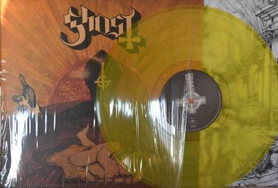 GHOST - INFESTISSUMAM 3rd pressing in Yellow vinyl, (LP)
