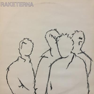 RAKETERNA - S/T First press with innersleeve, Ex Grisen skriker, Signed by Hasse H. on inner sleeve (LP)