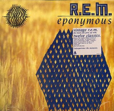 R.E.M. - EPONYMOUS Rare, Dutch with innersleeve (LP)