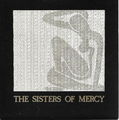 "SISTERS OF MERCY, THE - ALICE / FLOORSHOW Rare ""white background"" ps! (7"")"
