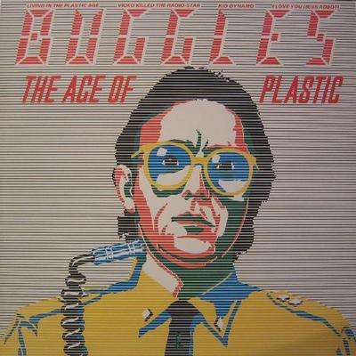 BUGGLES - THE AGE OF PLASTIC Swedish pressing. Classic 1980 synthpop, Video killed the radio star (LP)