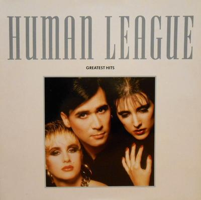 HUMAN LEAGUE, THE - GREATEST HITS 1988 compilation, German pressing, gatefold sleeve (LP)