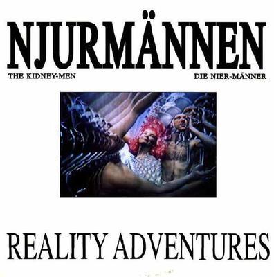 NJURMÄNNEN - REALITY ADVENTURES Swedish cult industrial (LP)