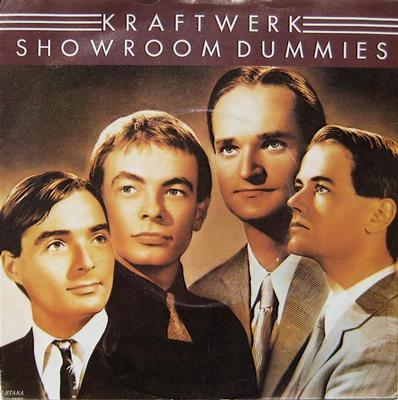 "KRAFTWERK - SHOWROOM DUMMIES / NUMBERS UK ps (7"")"