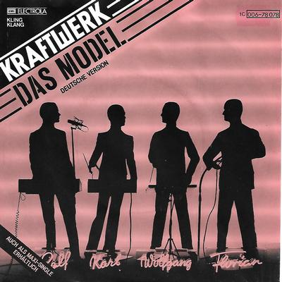 "KRAFTWERK - DAS MODEL / THE MODEL German ps, German & English versions! (7"")"