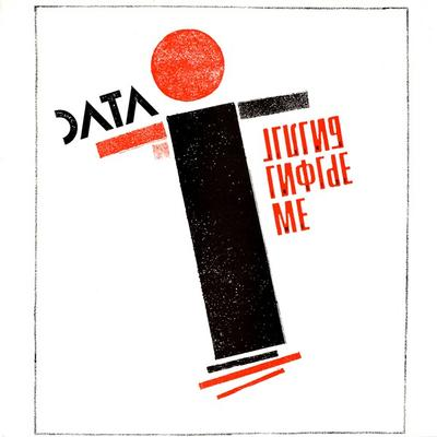 "DATA - LIVING INSIDE ME UK Pressing (12"")"