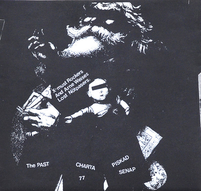 "CHARTA 77 M.FL. - VAR E JULEN Postersleeve, Charta 77, The Past, Piskad Senap (7"")"
