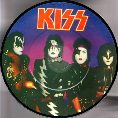 """KISS - A WORLD WITHOUT HEROES/Mr blackwell Picture Disc (7"""")"""
