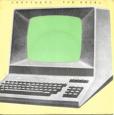 "KRAFTWERK - THE MODEL/Computerlove Dutch (7"")"