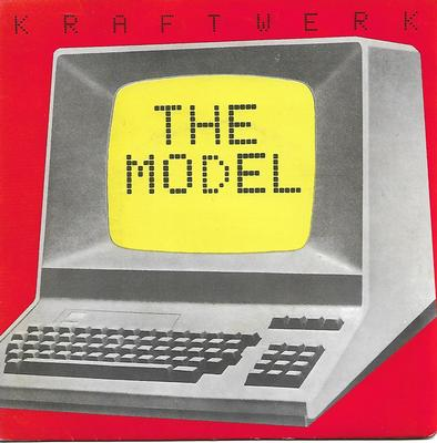 "KRAFTWERK - THE MODEL / COMPUTER LOVE UK ps (7"")"