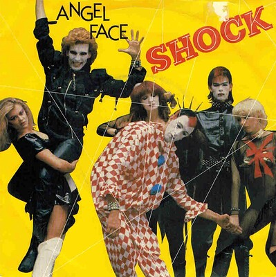 "SHOCK - ANGEL FACE / R.E.R.B. Classic and great UK 1980 synthpop, ps! Promo copy (7"")"