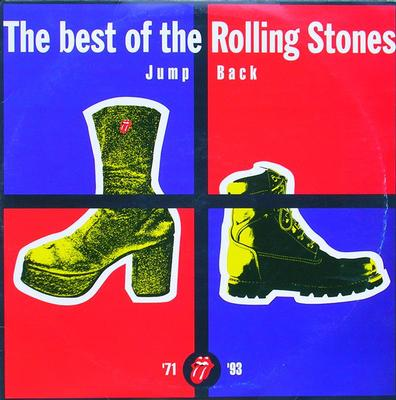 ROLLING STONES, THE - JUMP BACK Rare Best of 1993,Double Lp UK with inner sleeve, Ex+ (2LP)