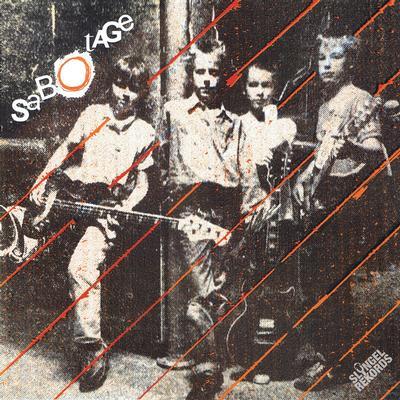 "SABOTAGE - SVERIGES APOR / Än finns vi Swedish early punk recorded 1982. Orange vinyl, Lim.Ed. 300 copies (7"")"