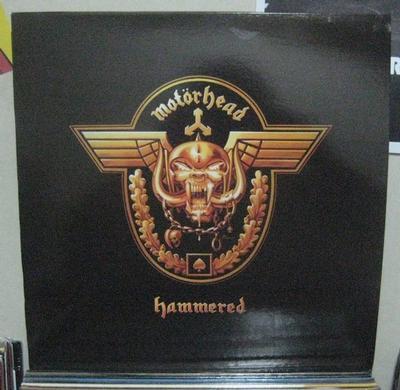 MOTÖRHEAD - HAMMERED Re-issue (LP)