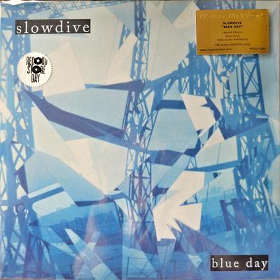SLOWDIVE - BLUE DAY 180g marbled vinyl (LP)
